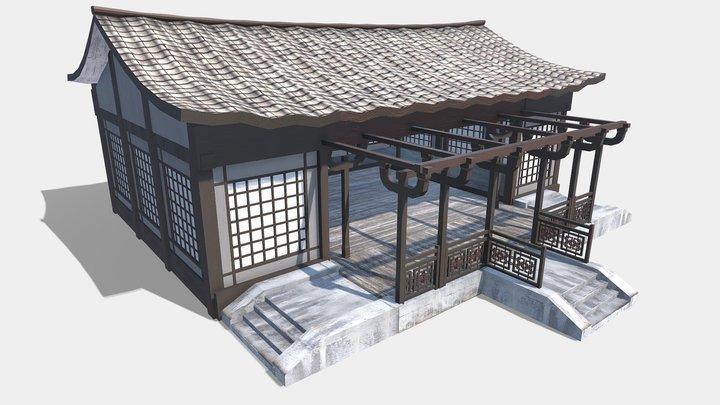 Asian Dojo 3D Model