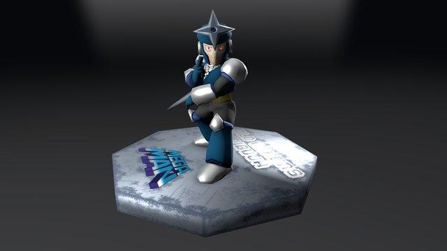 MM3 - Shadowman 3D Model