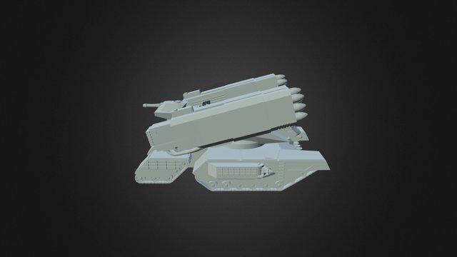 VASA KV90 Red Hammer 3D Model