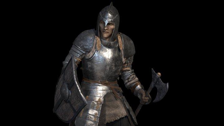 Iron Armor set for TESR: Skyblivion 3D Model