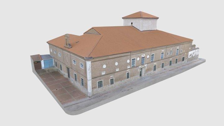 Nava del Rey - Hospital de San Miguel 3D Model