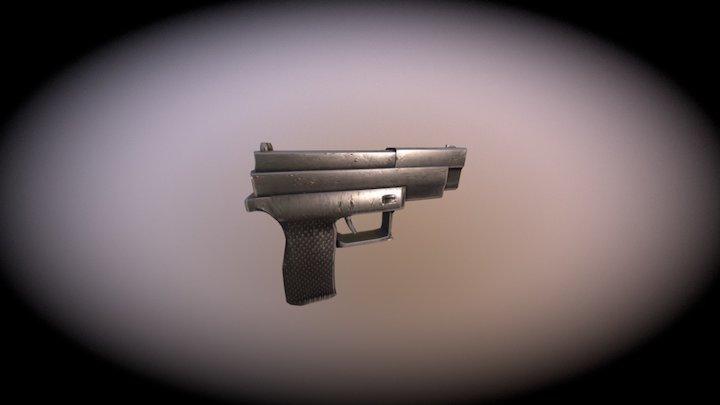 Little Gun 3D Model