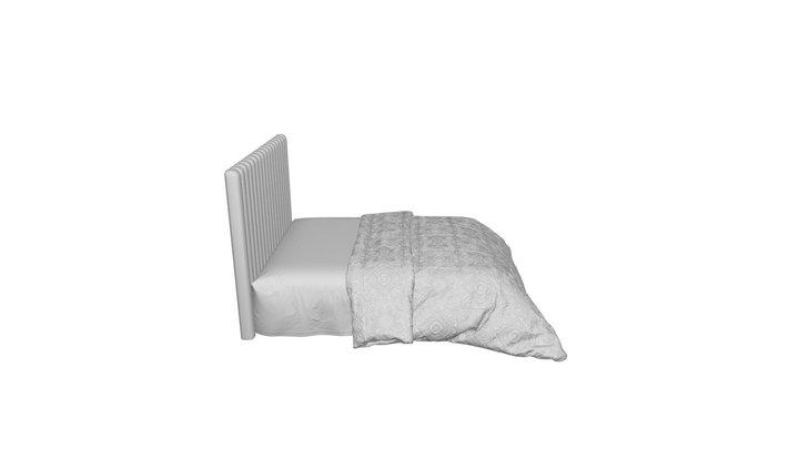 Bed 180x200 Mora Sea wave R. DG-HOME 3D Model