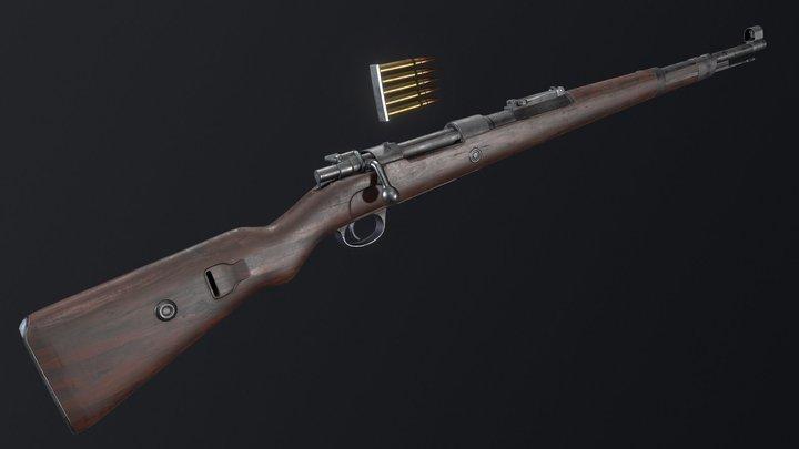 Mauser Karabiner 98k 3D Model