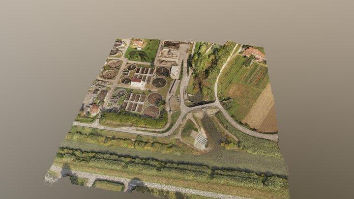 Depuratore - Rilievo APR 3D Model