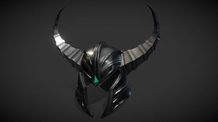 Tryndamere's helmet 3D Model