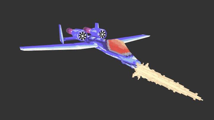 Heavy plane 3D Model