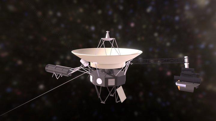Voyager Model (my first blender project) 3D Model