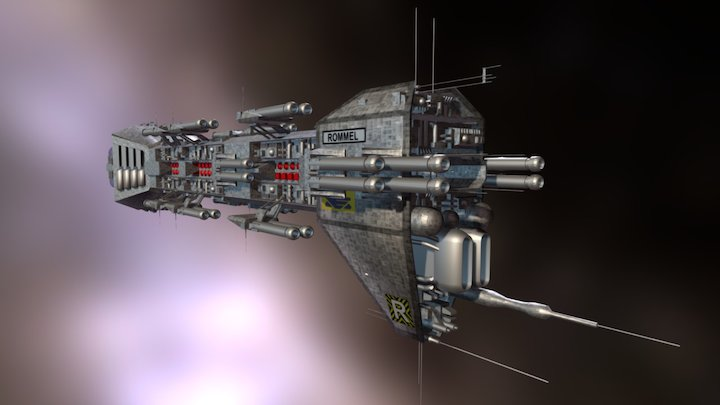 Nova Class Dreadnought 3D Model