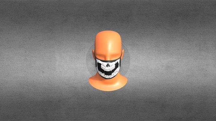 Brian Fury Mask (Fan Art) 3D Model