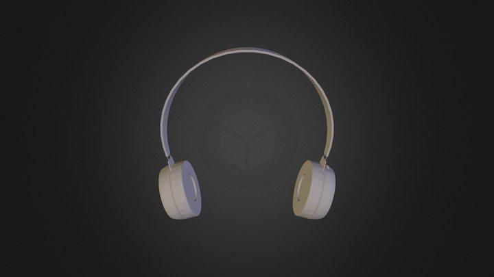 Simple Headphones3 3D Model