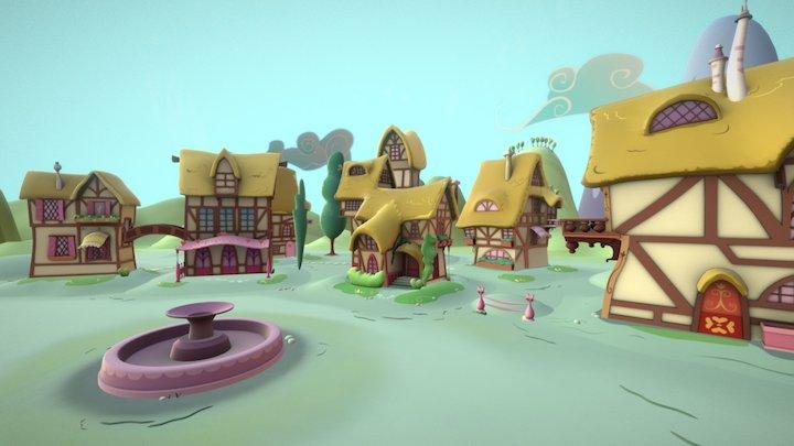Ponyville 3D Model
