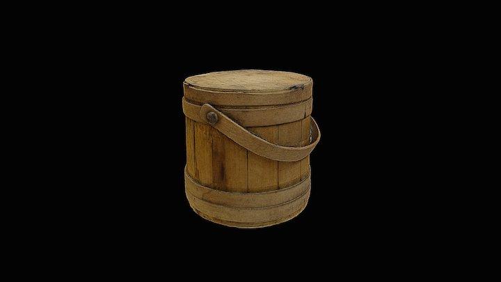 Sugar Bucket 3D Model