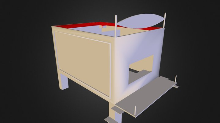 Copia Automática Locker Express 3D Model