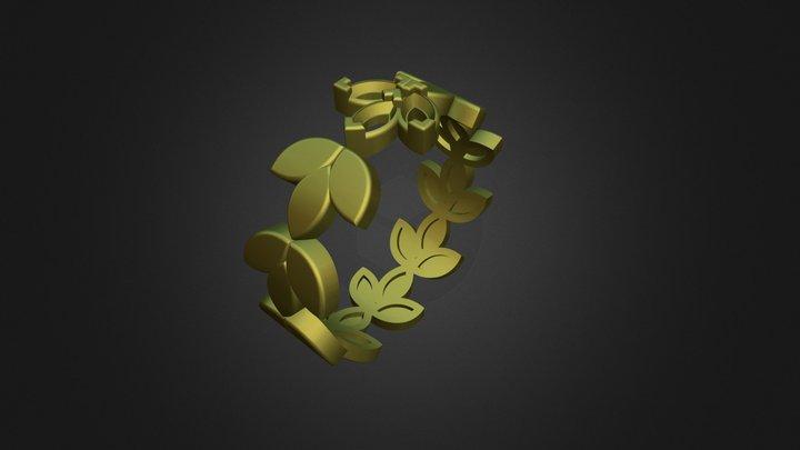 Ring Navete 3D Model
