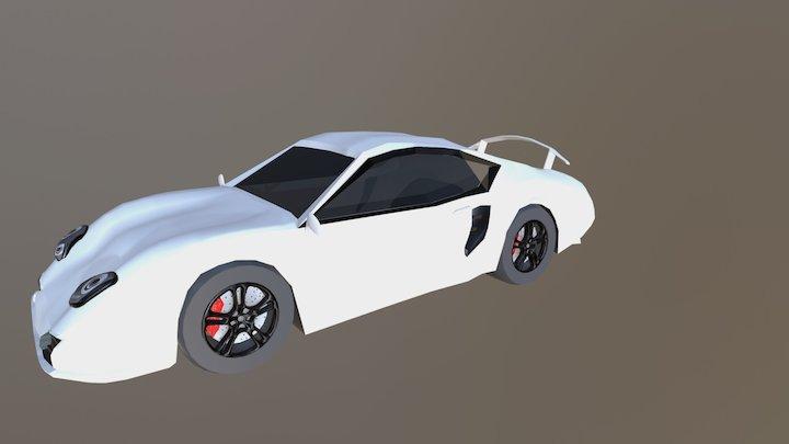 Porsche Car 3D Model