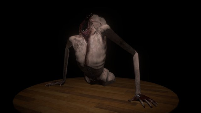 Notes of Obsession: Monster 3D Model