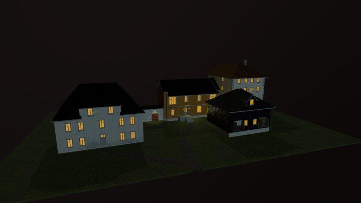 Hus på Tyholmen 3D Model