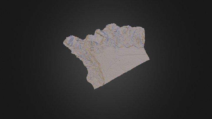 Model_Landunvez_201411 3D Model