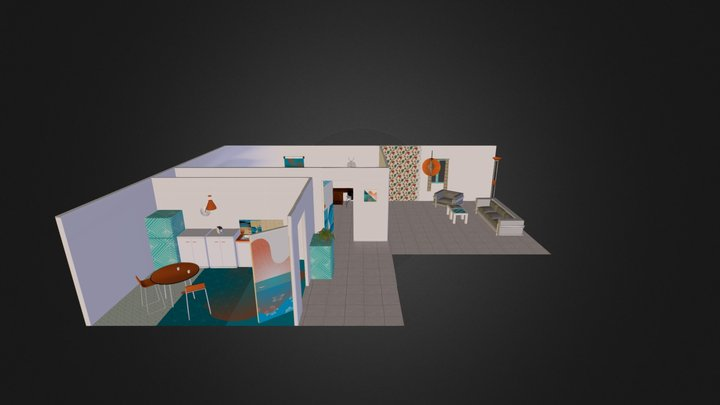 Cprint mobilier perso 3D Model