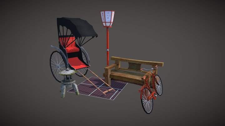5 props assignment (Q-week) 3D Model