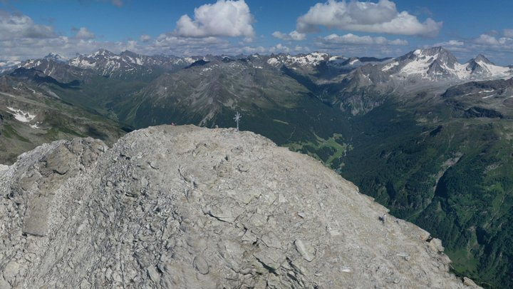 MoosStock Mountain Peak 3024 m 3D Model