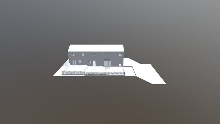 334 Barn Conversion 3D Model