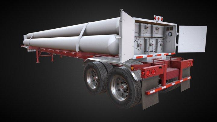 Tube Trailer CMW 3D Model