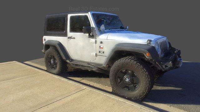 2008 Jeep wrangler (174 photos) 3D Model