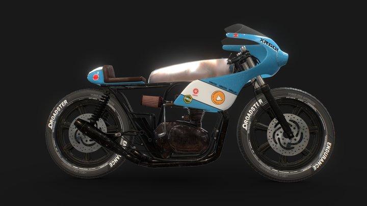 Yamaha XR600 3D Model