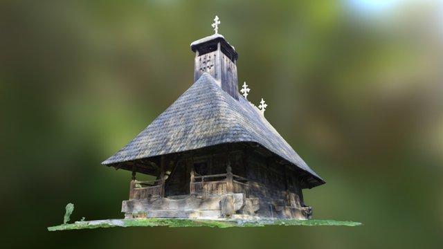 Church from Village Museum Bucharest 3D Model