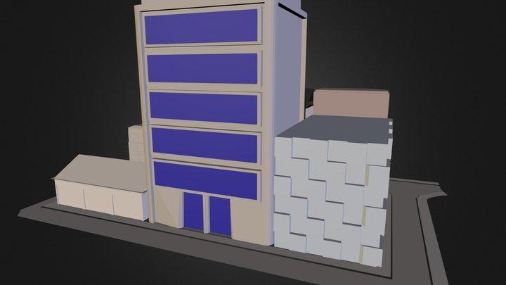 City Block 3 3D Model