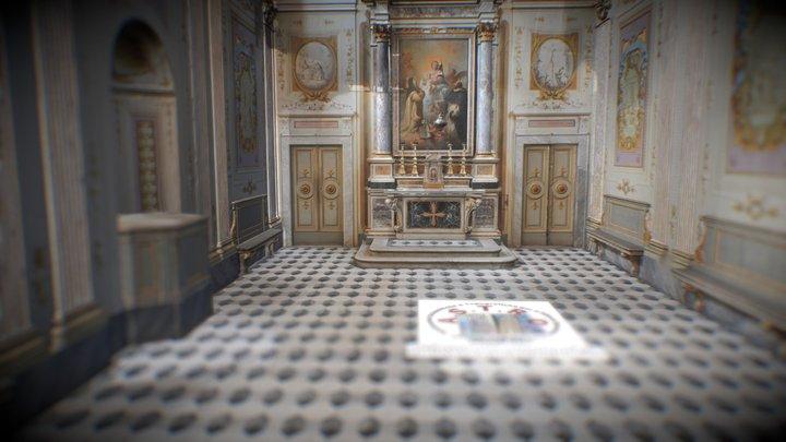 Saint Rosario Chapel - Certosa di Calci 3D Model