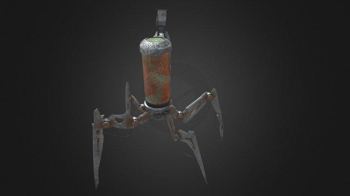Robot by Luke Johnston 3D Model