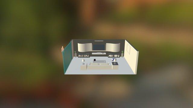 Aspiradora Automatica 3D Model