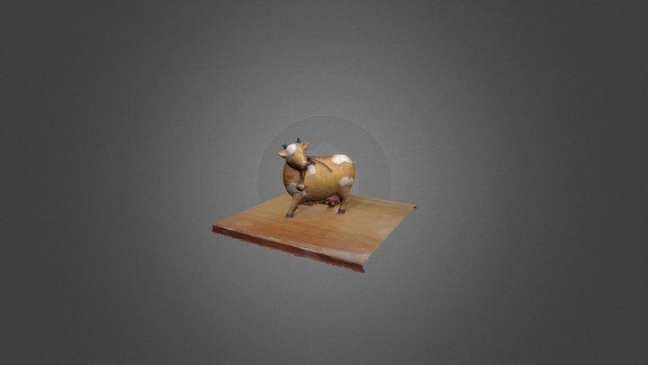 Berta - The Kitchen Cow 3D Model