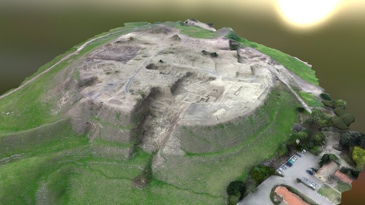 Tel Megiddo - תל מגידו 3D Model