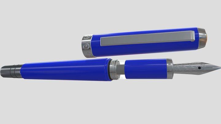 TWSBI Fountain Pen 3D Model