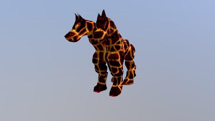 Cavalo de lava 3D Model
