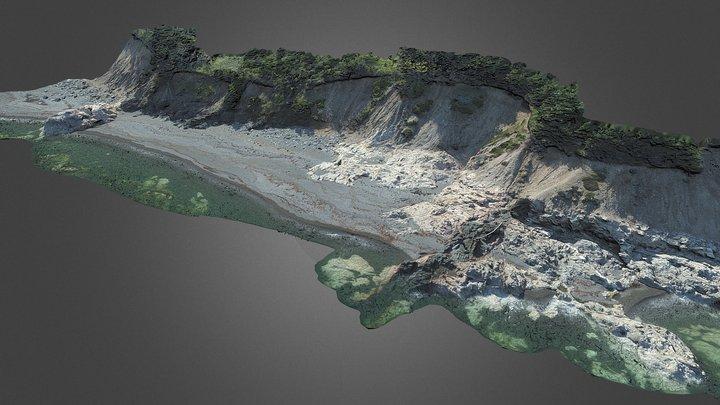 Georgeville Beach, NS 3D Model