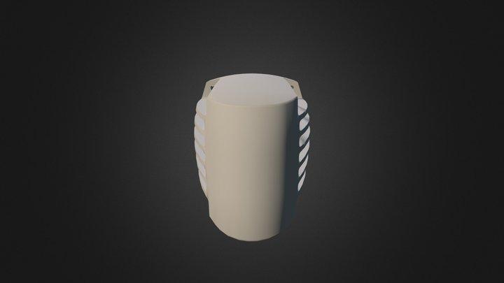 Carter Tete Ponceuse 3D Model