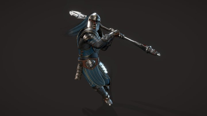 Warcraft - Royal Guard 3D Model