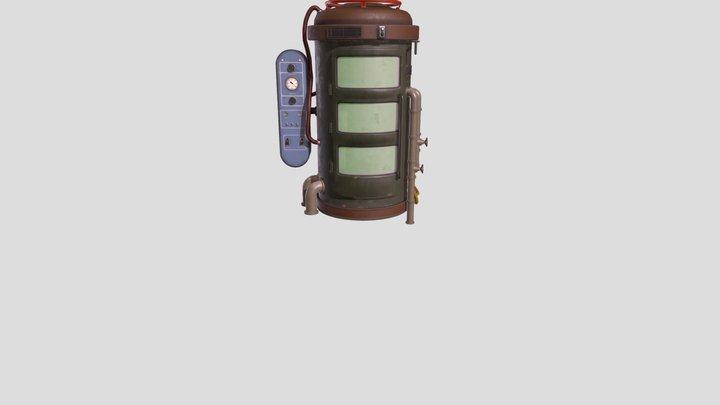 water capsule 3D Model