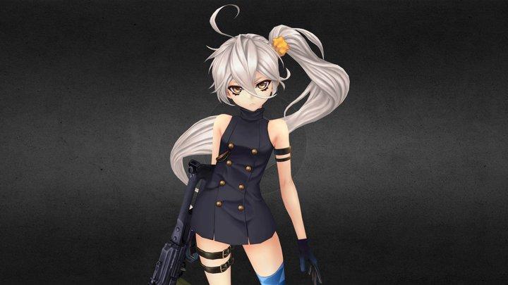 Girls Frontline _ PKP 3D Model