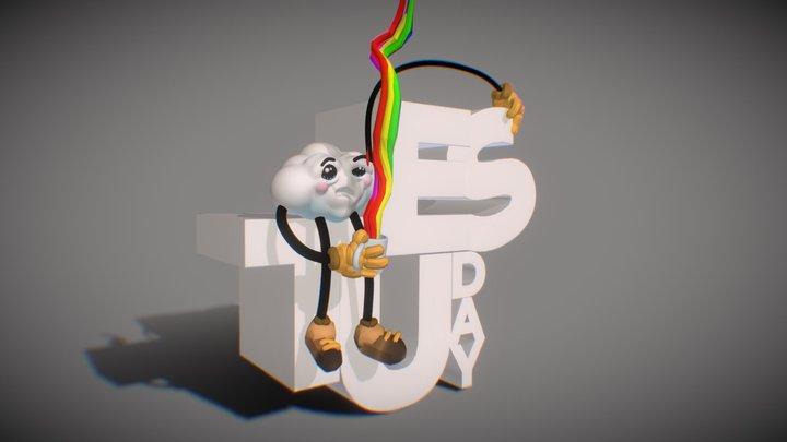HappyTuesday 3D Model