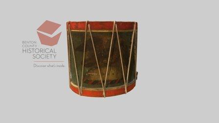 Drum, c. 1790 3D Model