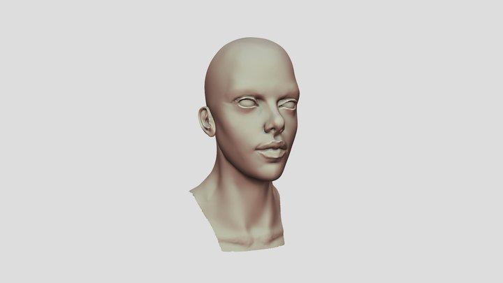 Head speed Sculpt 3D Model