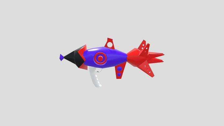 ARMA PROYECTILES 3D 3D Model