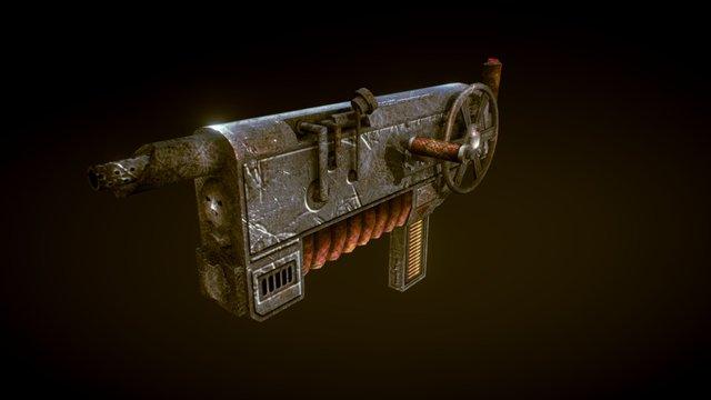 Steampunk Automat 3D Model