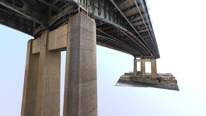 Raw/Unclean 3D Model 'Neath Bridge' 3D Model